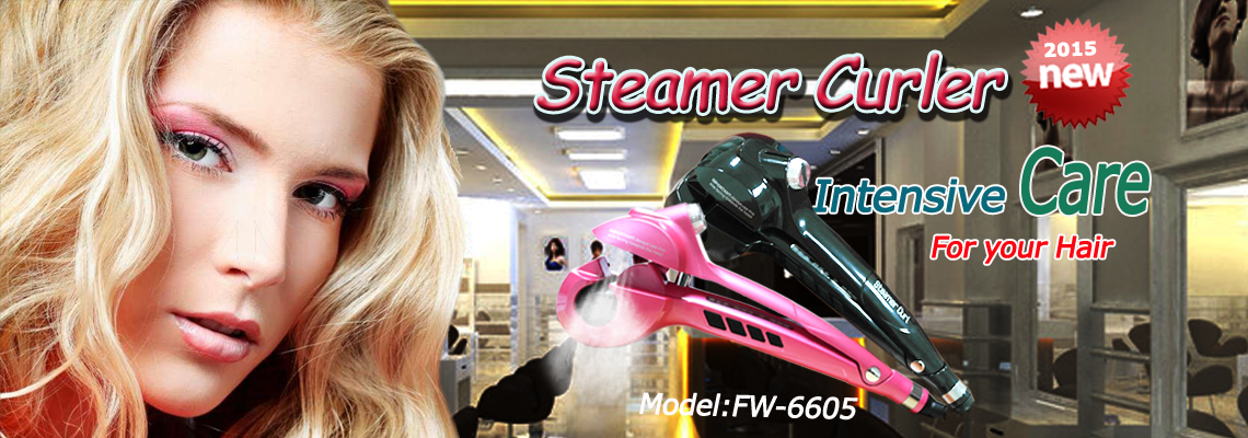 Steam Automatic Hair Curler