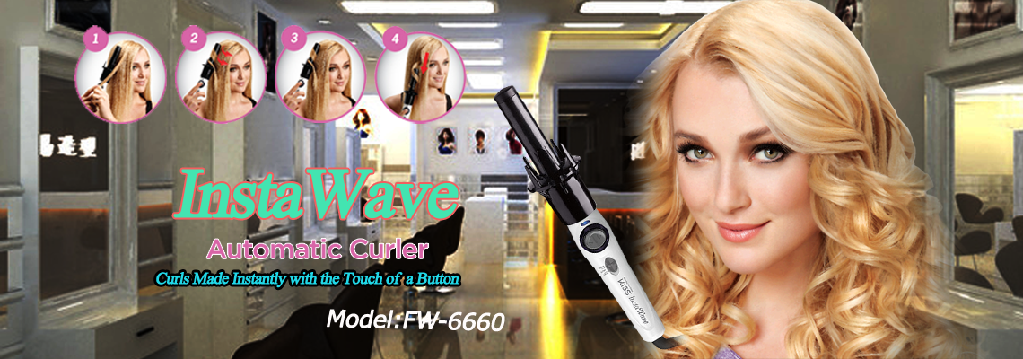 InstaWave Automatic Hair Curler