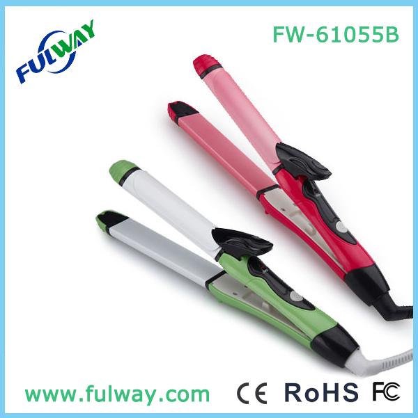 2015 2 IN 1 Hair Straightener FW-61055B