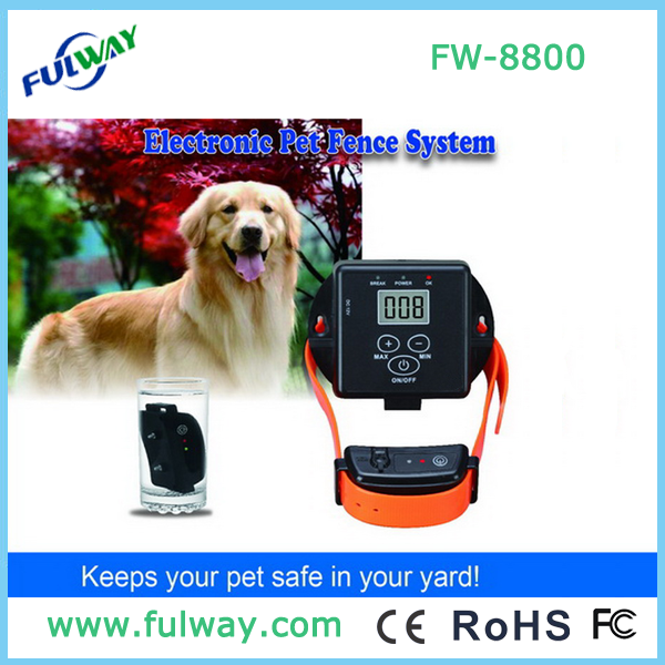 2015 New Rechargeable and Waterproof Inground Dog Fence FW-8800