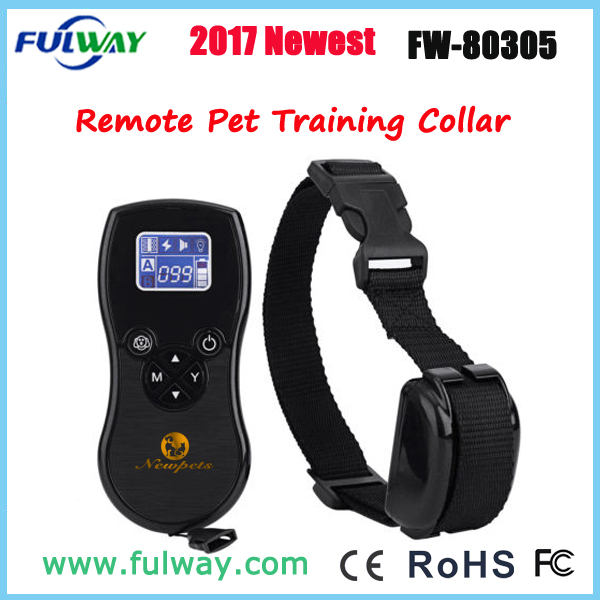 2017 Newest Rechargeable Dog Training Collar With LED Light