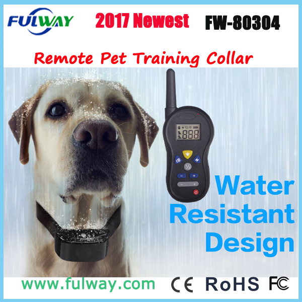 Rechargeable Waterproof Wireless Remote Dog Training Collar